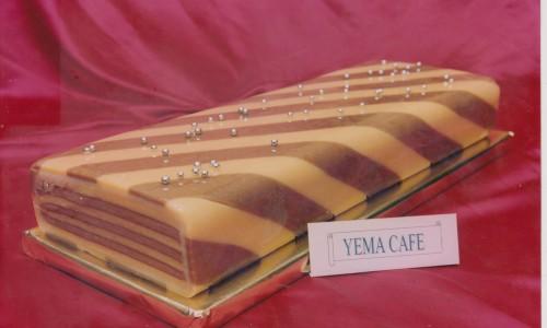 Turrón artesano Yema-Café